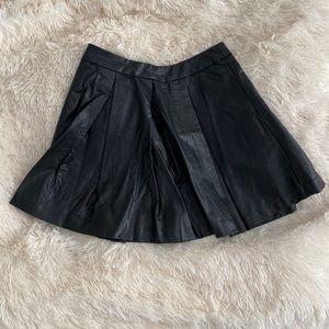 5/48 Leather Skirt